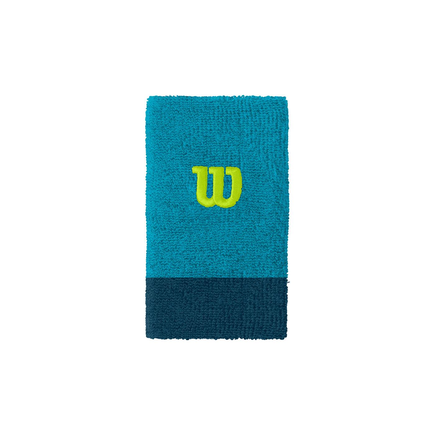 WILSON EXTRA WIDE W WRISTBAND Barr Reef/MA OSFA - Herren