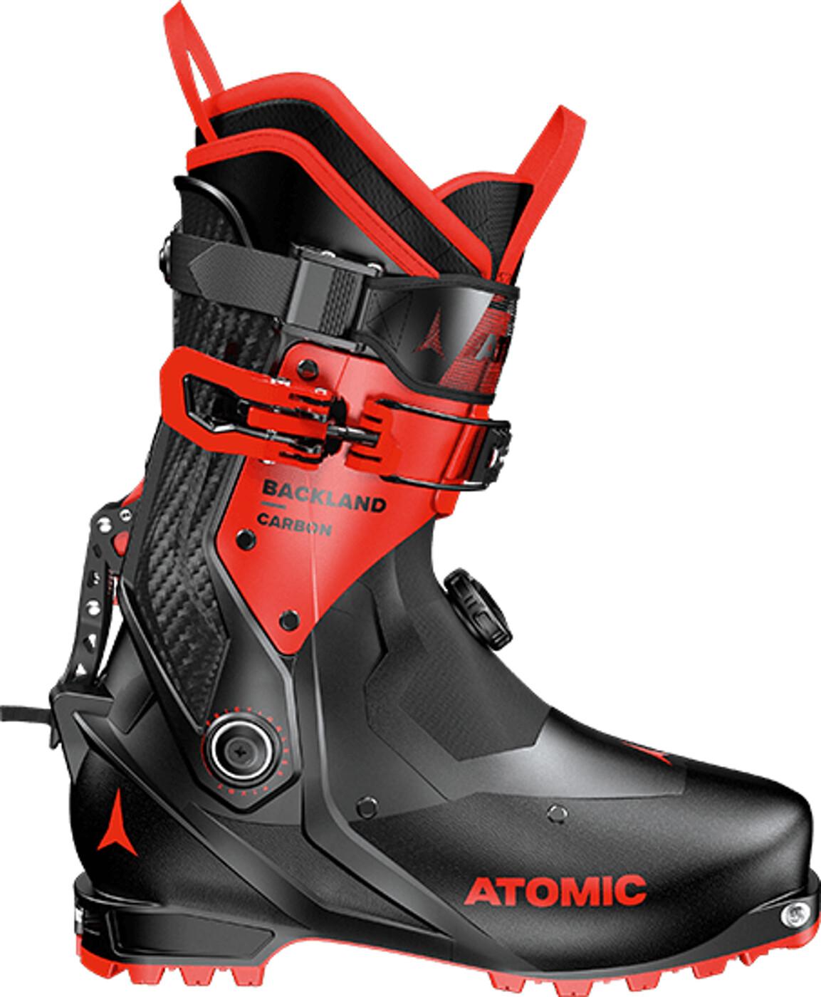 ATOMIC BACKLAND CARBON Black/Red - Herren