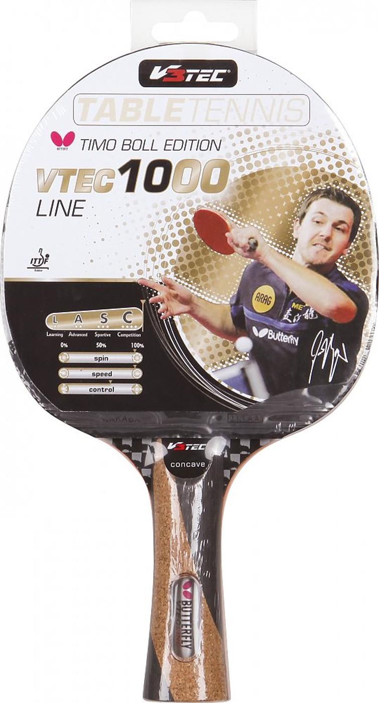 V3TEC Tischtennis-Schläger VTEC 1000