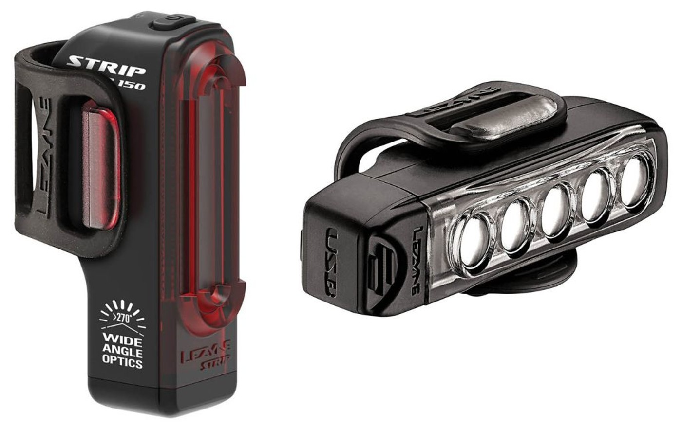 LEZYNE STRIP DRIVE SCHWARZ SET