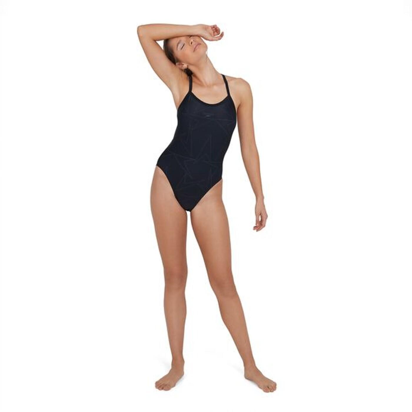 SPEEDO Boomstar Turnback Swimsuit - Damen