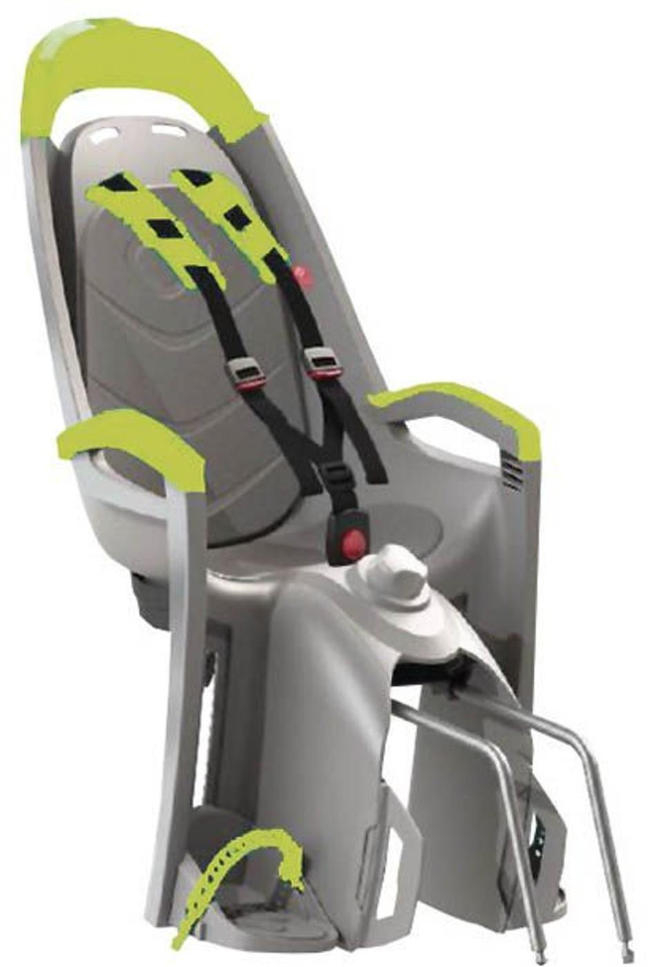 HAMAX Kindersitz AMAZE grau/lime