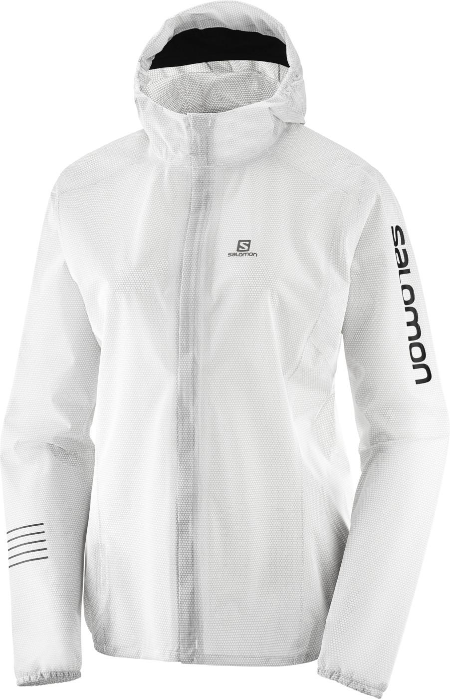 SALOMON LIGHTNING RACE WP JKT W White S - Damen