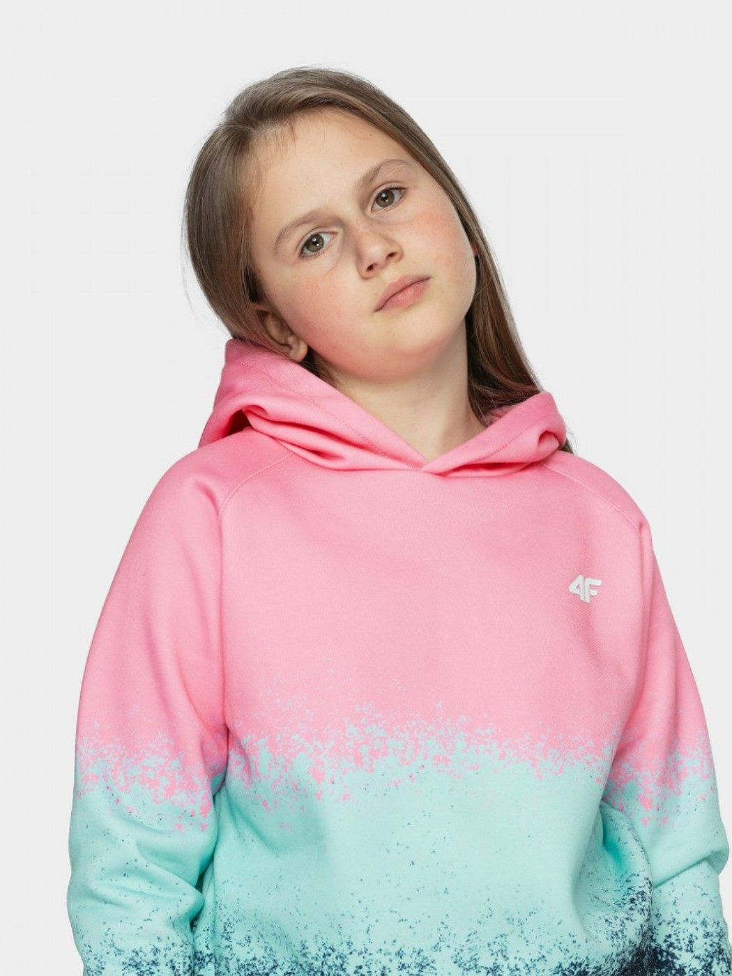 4F GIRL S SWEATSHIRT JBLD003 - Kinder