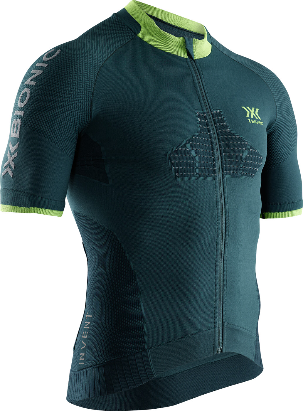 X-BIONIC INVENT® 4.0 CYCLING ZIP SHIRT - Herren