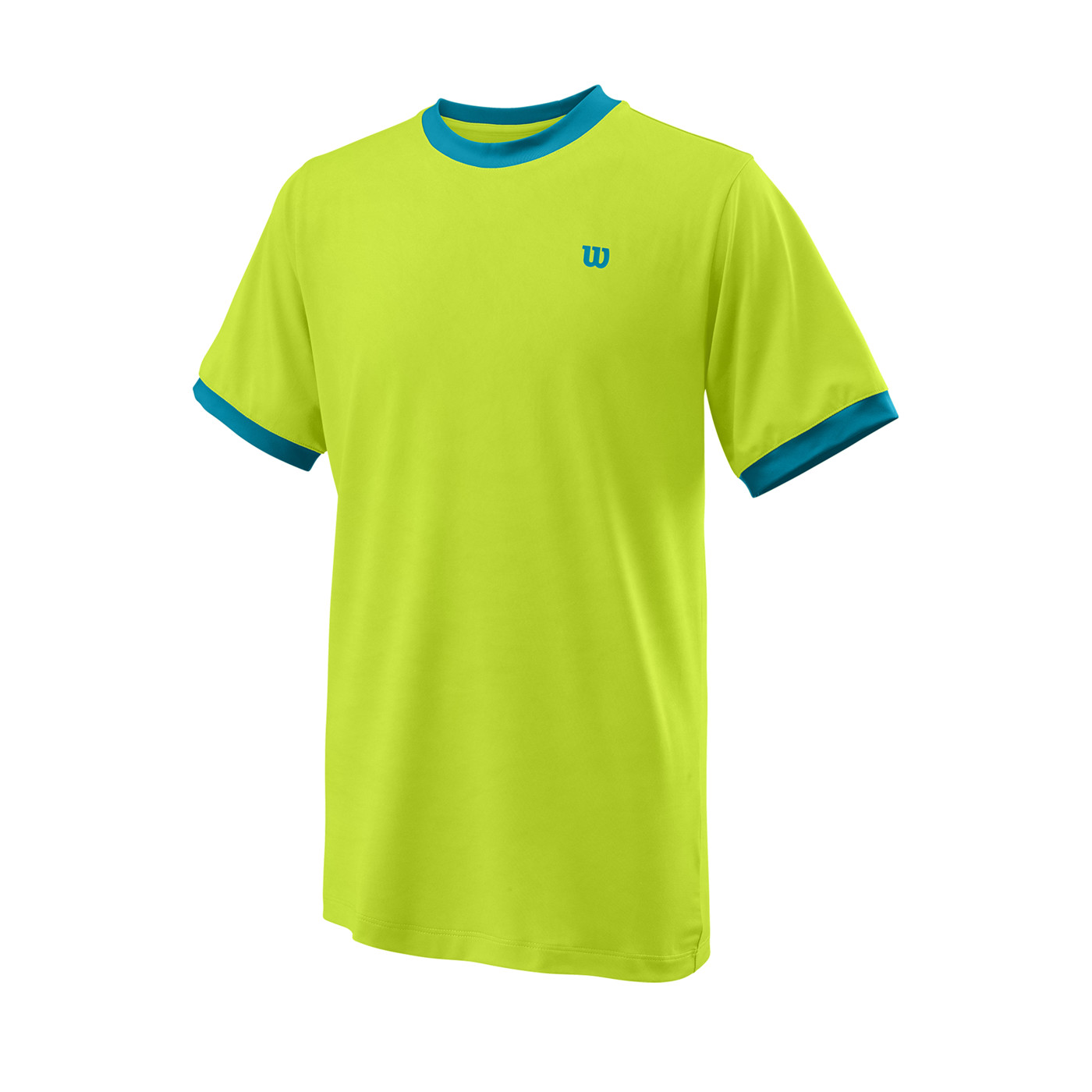WILSON B COMPETITION CREW Lime Pop LG - Kinder