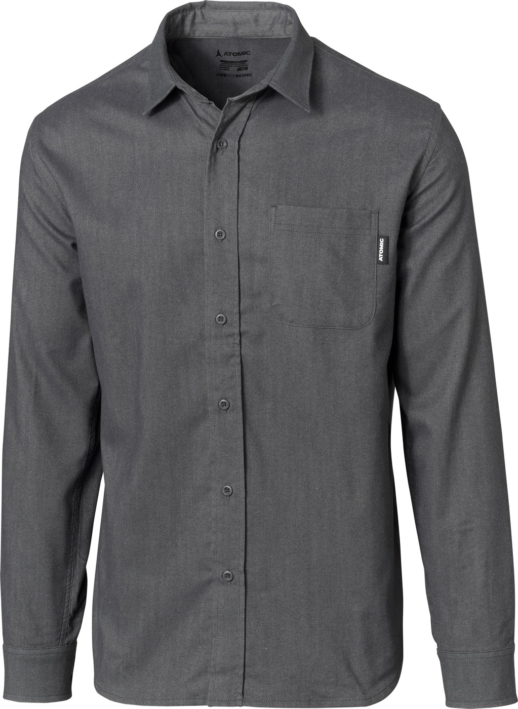ATOMIC FLANNEL SHIRT Dark Grey M - Herren