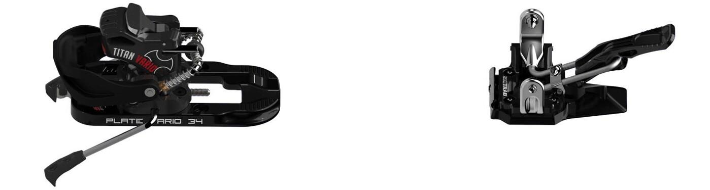 SKITRAB Titan Vario 2.0 Rental Stopper