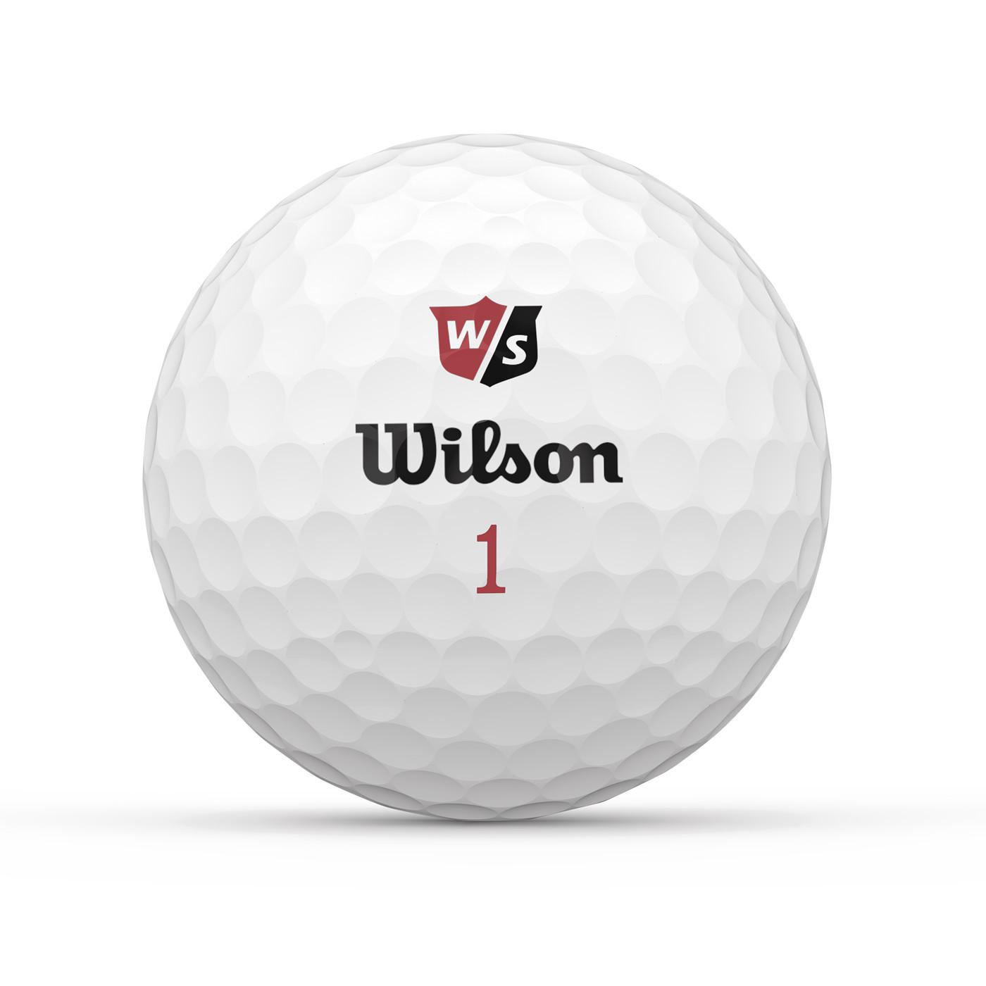 WILSON DUO SOFT+ WHITE 12-BALL