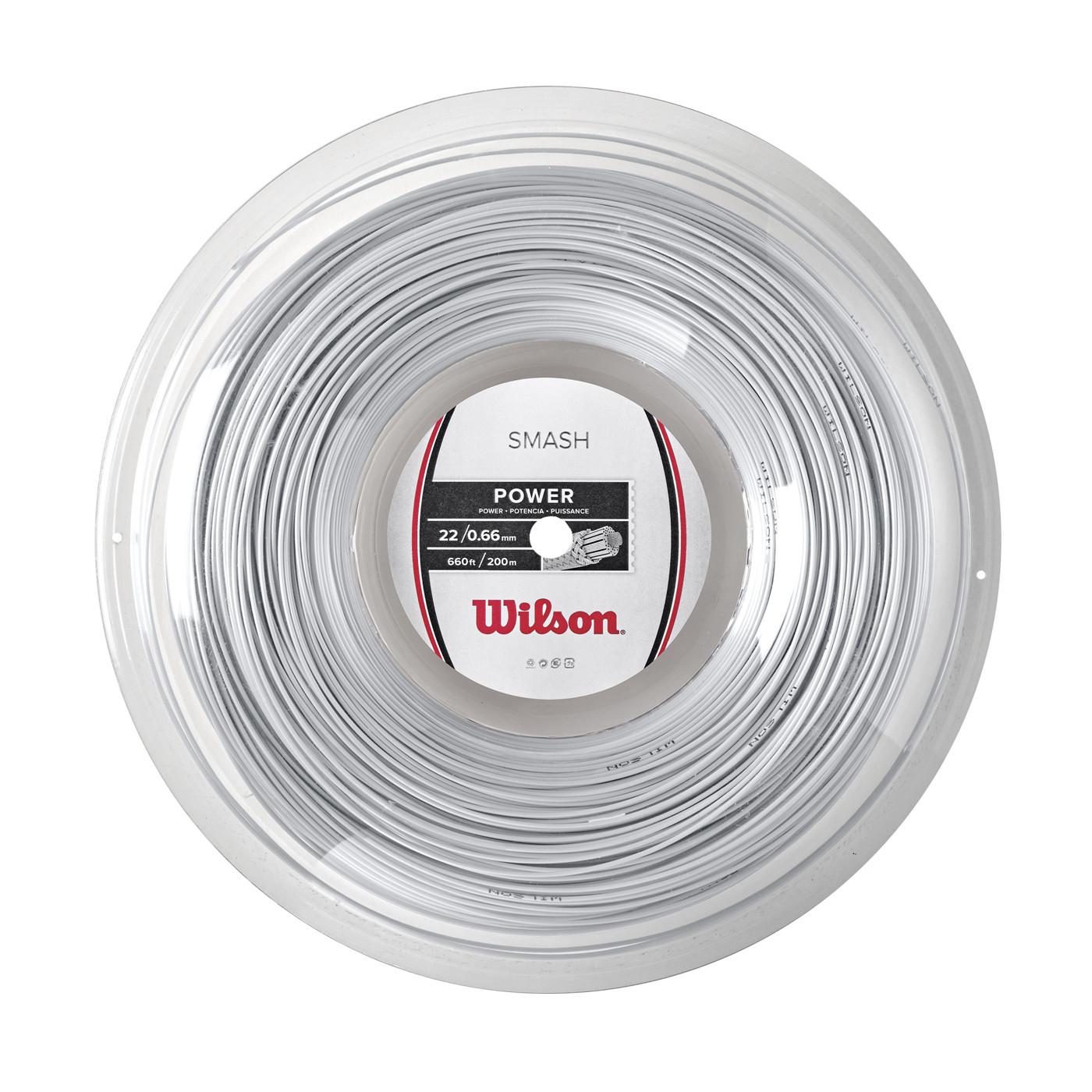 WILSON SMASH 66 200M REEL WHITE