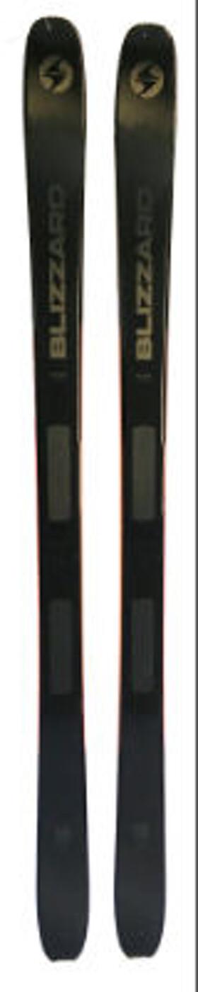BLIZZARD ZERO G 085 BLACK (FLAT)