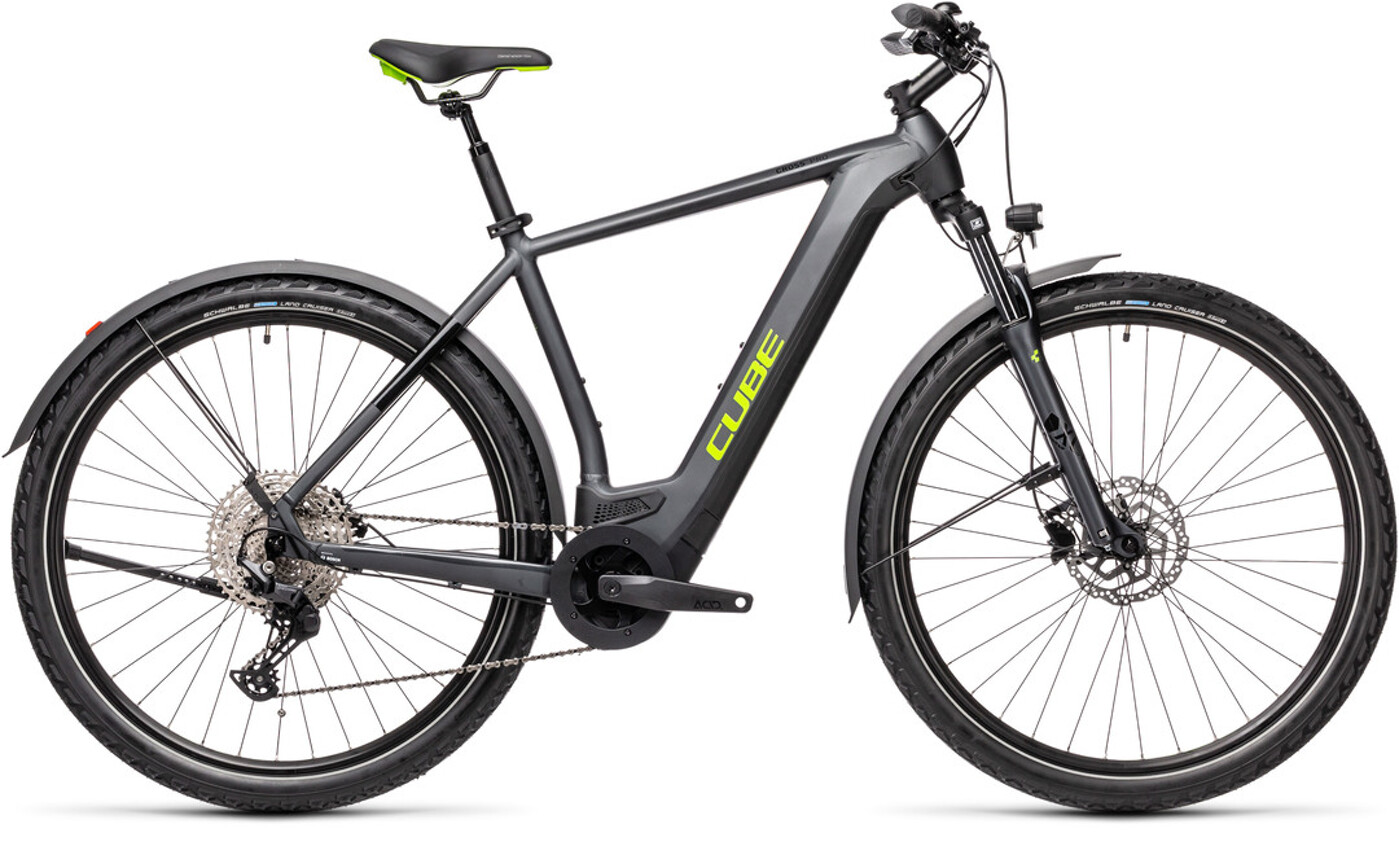 Cube Cross Hybrid Pro 625 Allroad iridium´n´green
