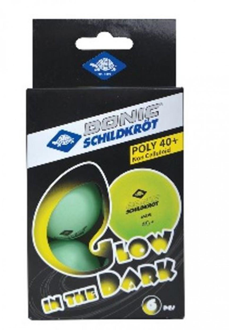 SCHILDKRÖT Glow in the dark Poly 40+ Ball