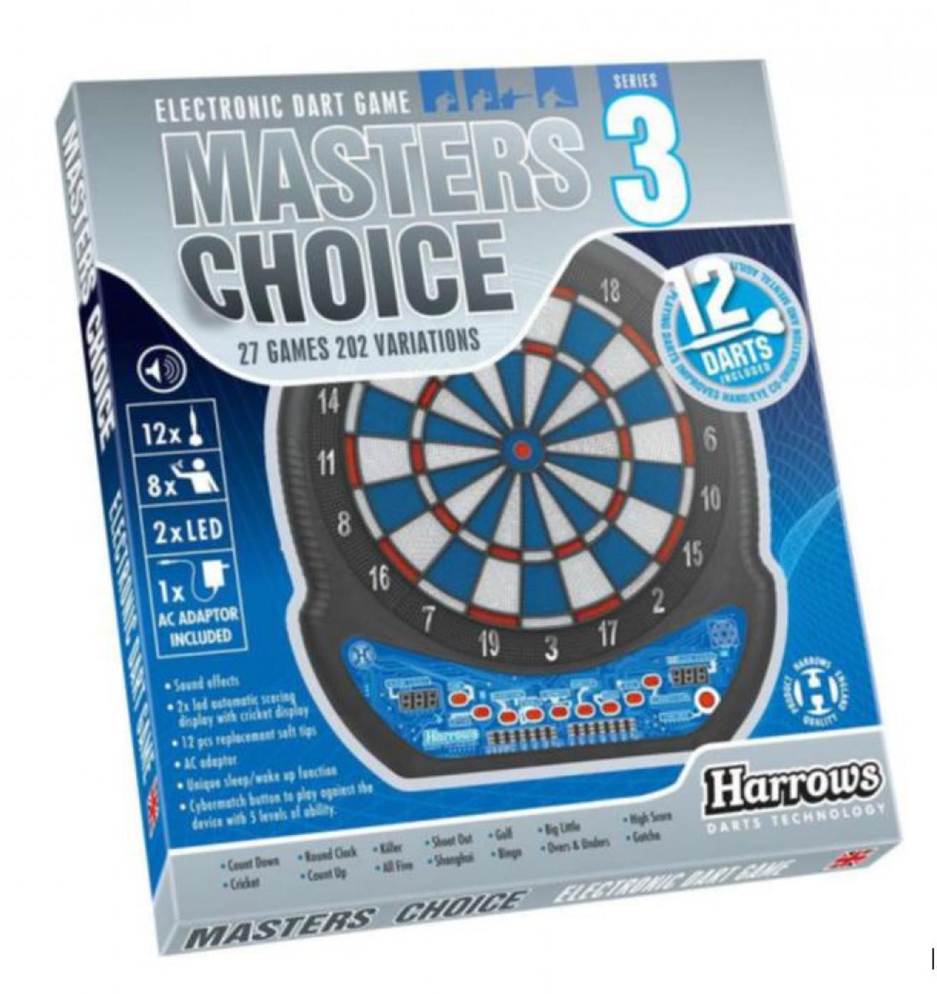 HARROWS Dartboard Masters Choice 3