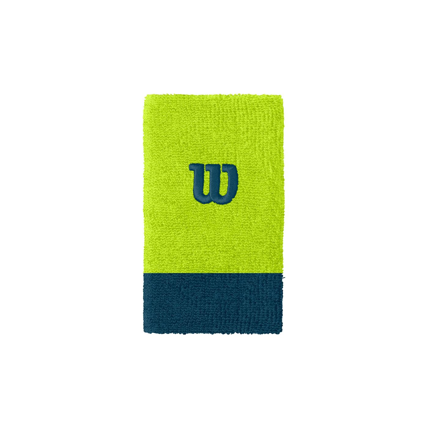 WILSON EXTRA WIDE W WRISTBAND Lime Pop/MAJ OSFA - Herren