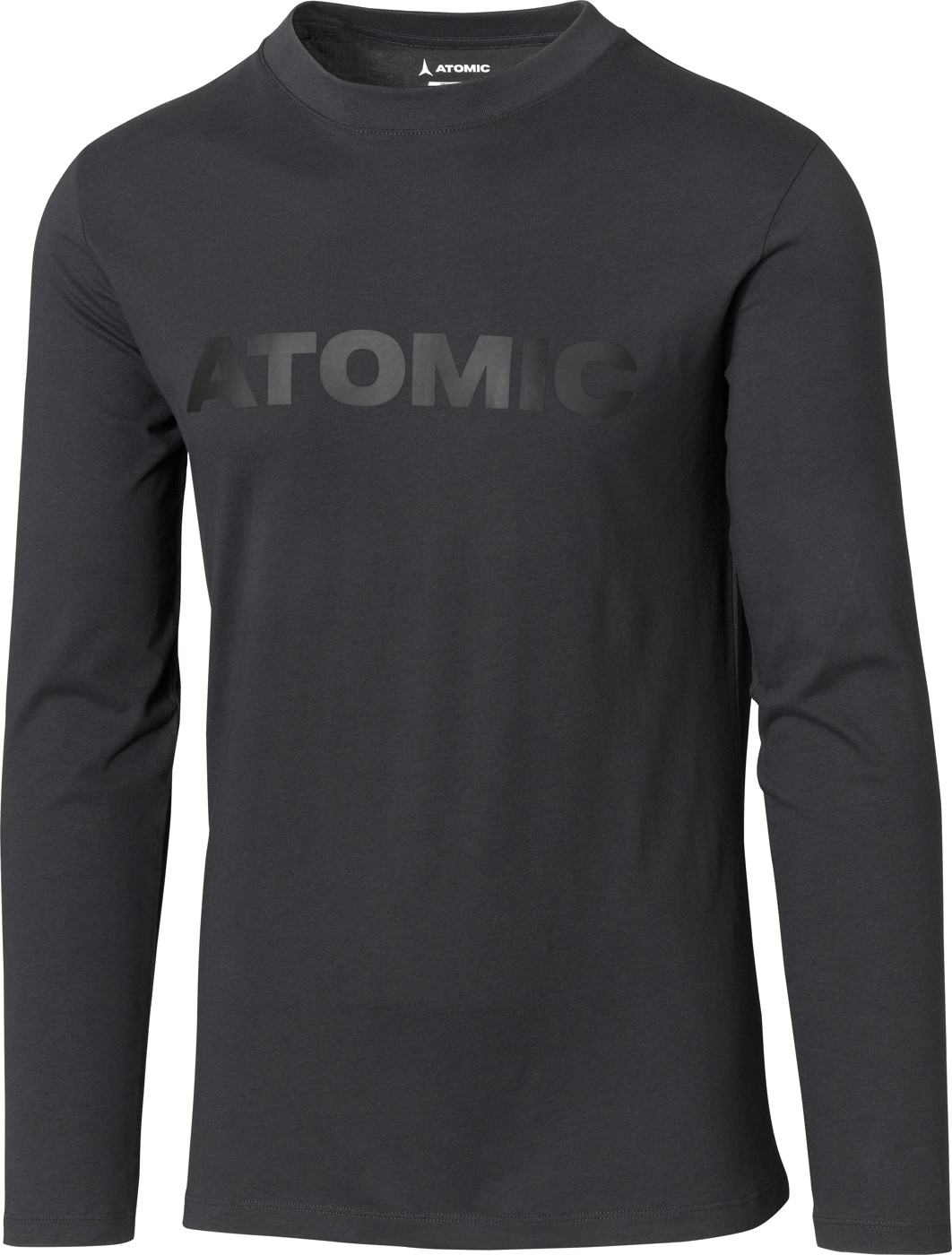 ATOMIC ALPS LS T-SHIRT Anthracite L - Herren